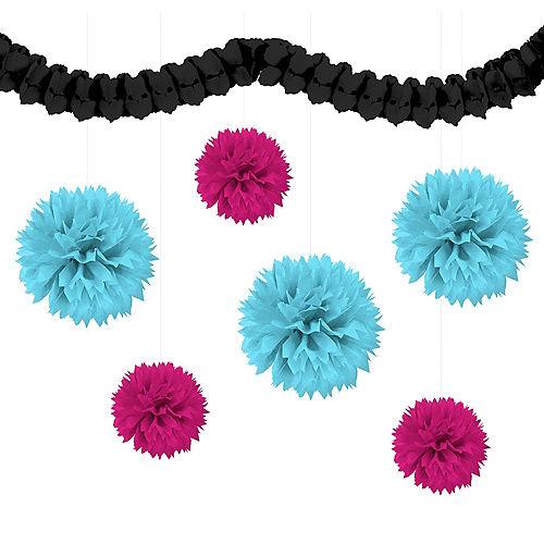 Caribbean Blue & Pink Decorating Kit Image #1