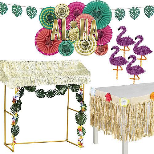 Aloha Pineapple Tiki Hut Bar Kit Image #1