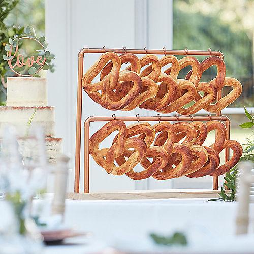Ginger Ray Metallic Rose Gold Pretzel Stand Kit Image #1