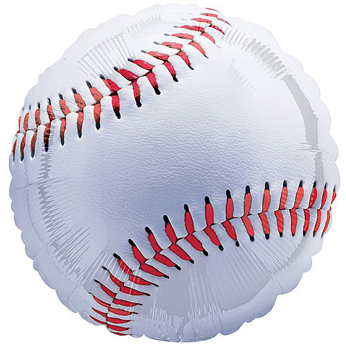 Giant Championship Baseball Balloon, 28in Image #1