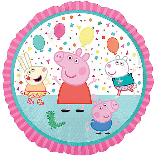 Peppa Pig Party Balloon, 18in Image #1