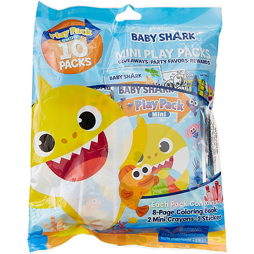 Baby Shark Mini Grab & Go Play Packs, 10ct Image #3