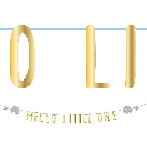 Blue Little Peanut Letter Banner, 10ft Image #1