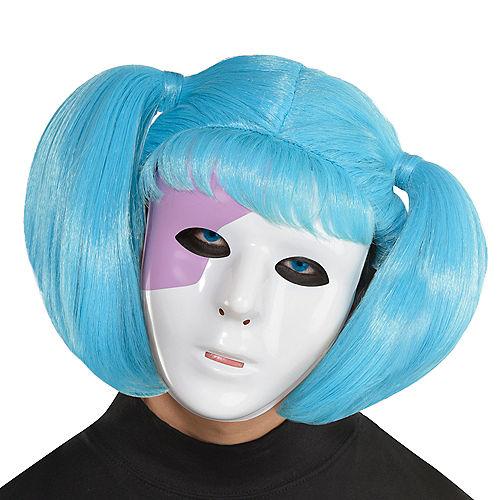 Creepy Suzie Doll Mask & Wig Kit Image #1