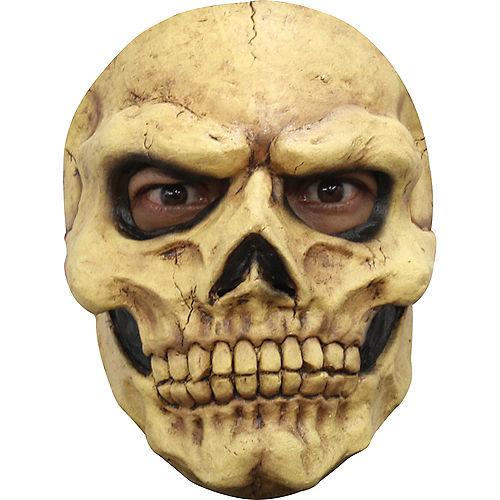 Yellowed Skull Mask Image #1