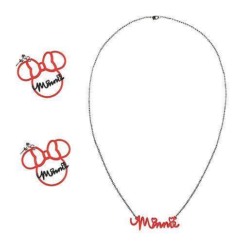 Minnie Mouse Jewelry Set 3pc Image #1