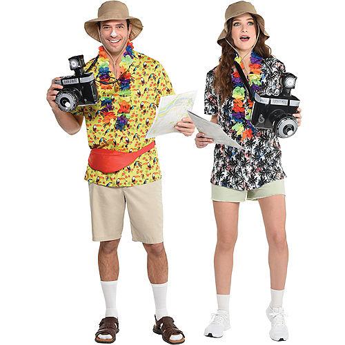 Tacky Tourist Costume Accessory Kit Image #1