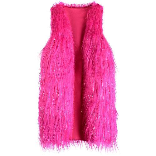 Child O.M.G. Winter Disco Cosmic Nova Faux Fur Vest - L.O.L. Surprise! Image #1