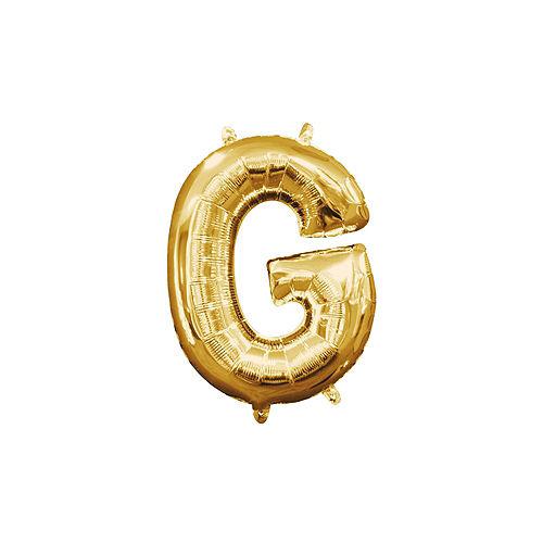 Air-Filled Gold The Big Game Balloon Kit Image #7