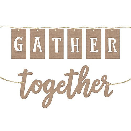Rustic Gather Together Banners 2ct Image #1