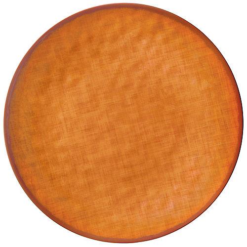 Fall Textured Melamine Round Platter Image #1
