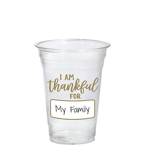 Customizable I Am Thankful For Tumbler Image #1