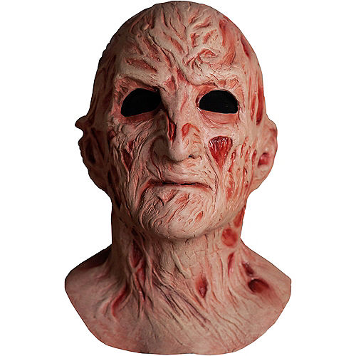 Freddy Krueger Face Mask Deluxe - A Nightmare on Elm Street 4 Image #1