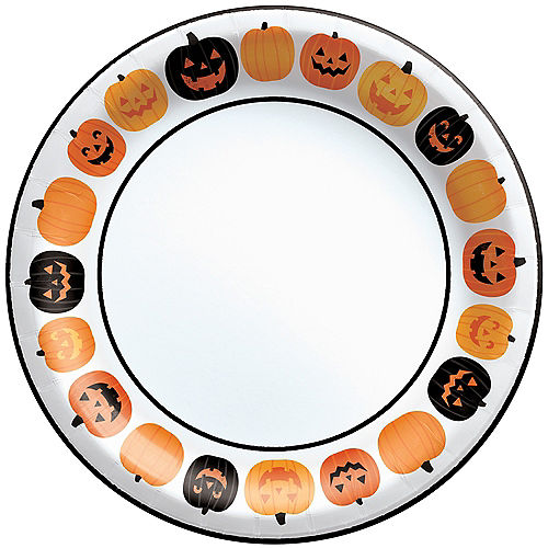 Pumpkin Fun Dinner Plates, 10in, 40ct Image #1