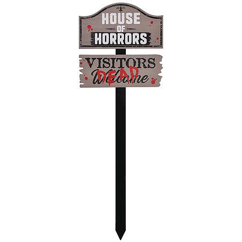 House of Horrors Yard Stake Image #1