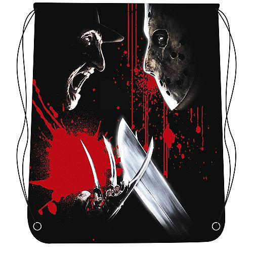 Freddy Vs. Jason Drawstring Backpack Image #1