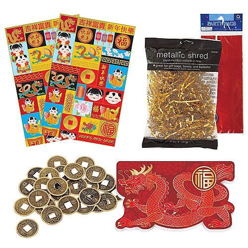 Chinese New Year Party Favor Kit for 24 Guests Image #1