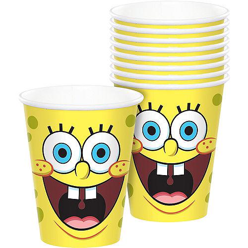 SpongeBob SquarePants Paper Cups, 9oz, 8ct Image #1