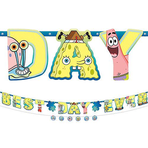 SpongeBob SquarePants Letter Banner with Accent Banner Image #1