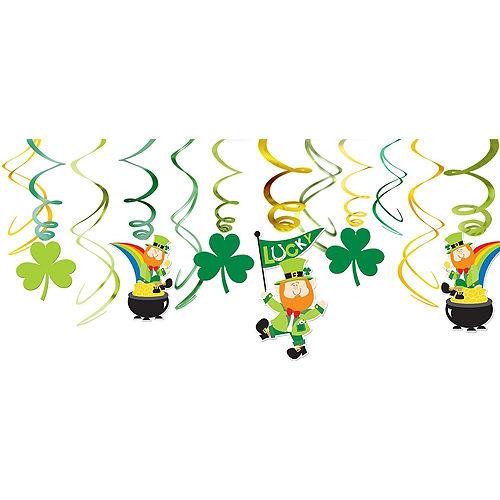 St. Patrick's Day Window Decorating Kit Image #3