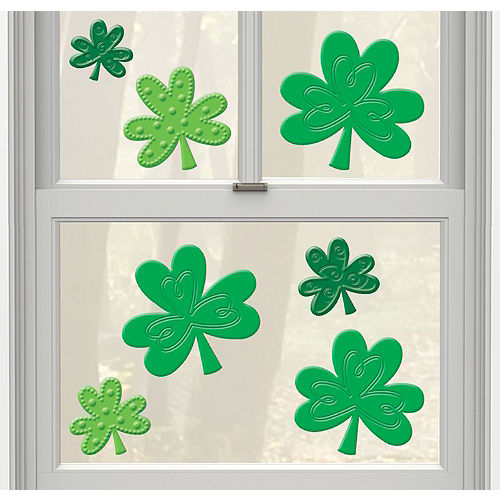 St. Patrick's Day Window Decorating Kit Image #4