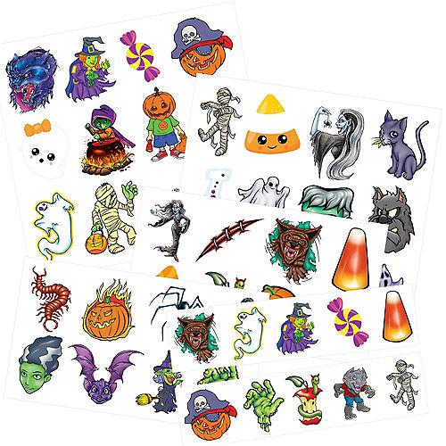 Halloween Tattoos, 50ct Image #1