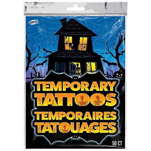 Halloween Tattoos, 50ct Image #2