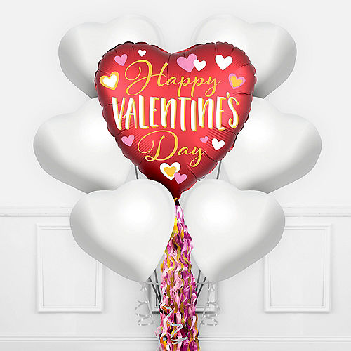 Valentine's Day Pom-Pom Balloon Kit Image #1