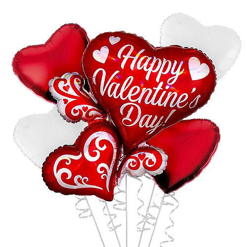 Valentine's Day Multi Heart Balloon Kit Image #1