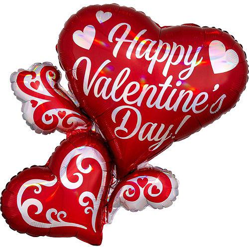 Valentine's Day Multi Heart Balloon Kit Image #5