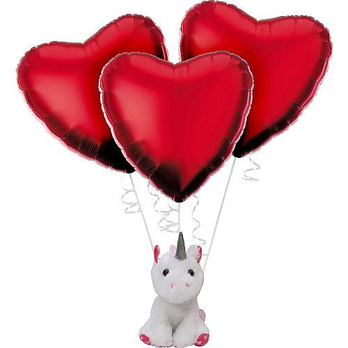 Valentine's Day Unicorn Balloon Kit Image #1