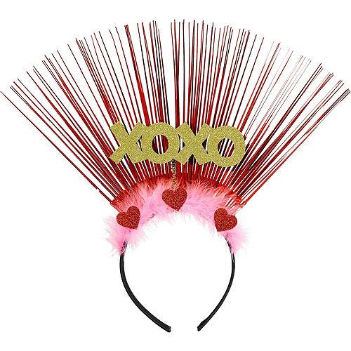 Child Valentine's Day Confetti Heart Accessory Set Image #3