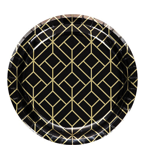 Roaring 20s Tableware Kit for 16 Guests Image #2