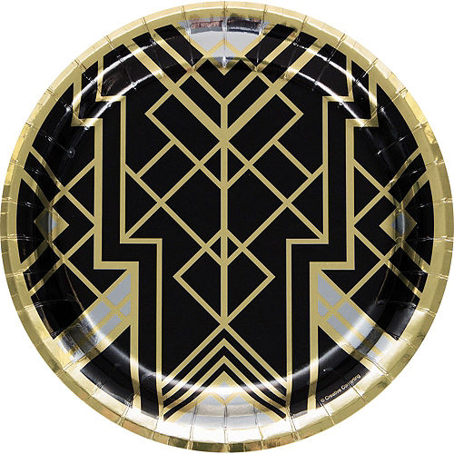 Roaring 20s Tableware Kit for 16 Guests Image #3