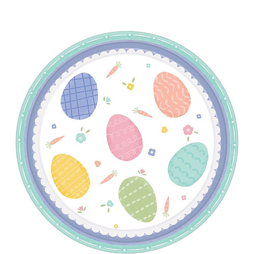 Pretty Pastel Easter Tableware Kit for 54 Guests Image #2