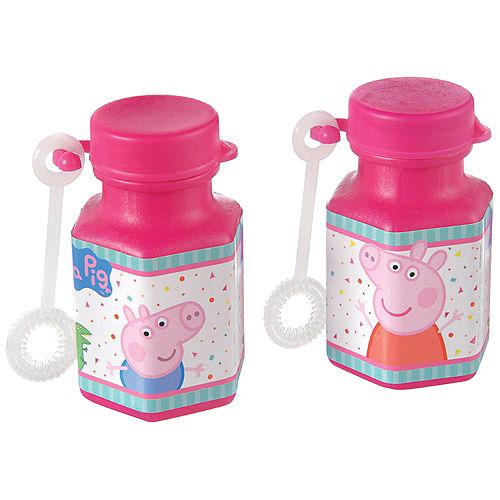 Peppa Pig Confetti Party Mini Bubbles 8ct Image #1
