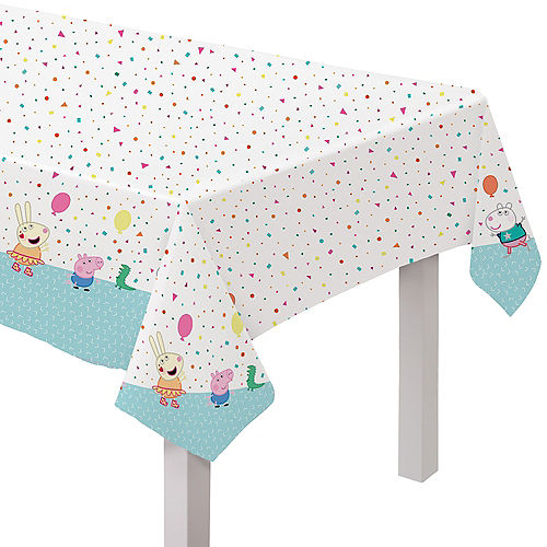 Peppa Pig Confetti Party Table Cover Image #1