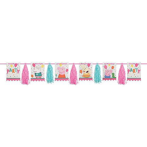 Peppa Pig Confetti Party Tassel Garland Image #1