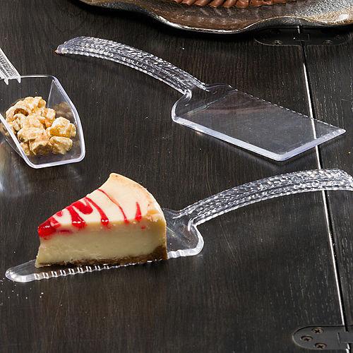 Clear Premium Plastic Cake Server Set, 2pc Image #2