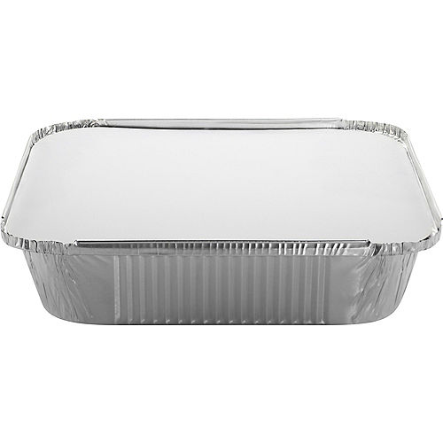 Aluminum Square Pans with Board Lids, 9in, 10ct Image #1