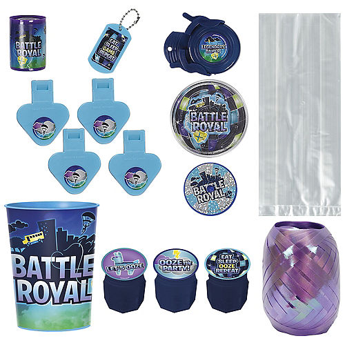 Battle Royal Super Favor Kit for 8 Guests Image #1