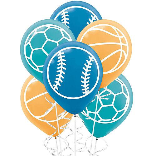 Birthday Baller Balloon Bouquet Kit Image #3