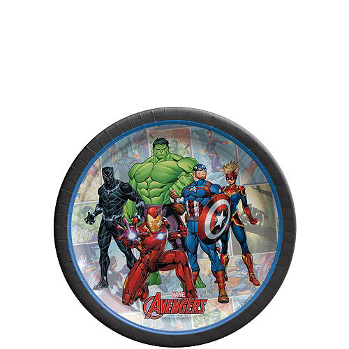 Marvel Powers Unite Tableware Kit for 16 Guests Image #2
