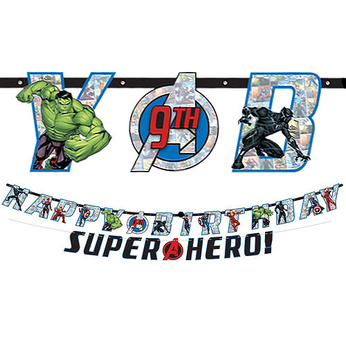Marvel Powers Unite Tableware Kit for 24 Guests Image #10