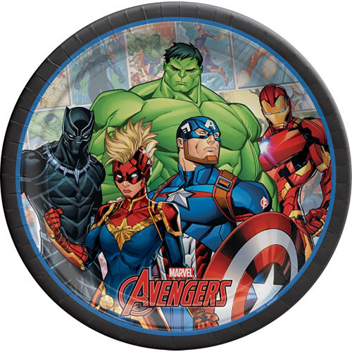 Marvel Powers Unite Iron Man Tableware Kit for 24 Guests Image #3