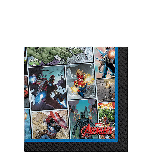 Marvel Powers Unite Iron Man Tableware Kit for 24 Guests Image #4