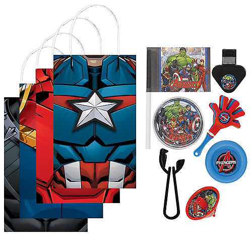 Marvel Powers Unite Party Favor Kit for 8 Guests Image #1