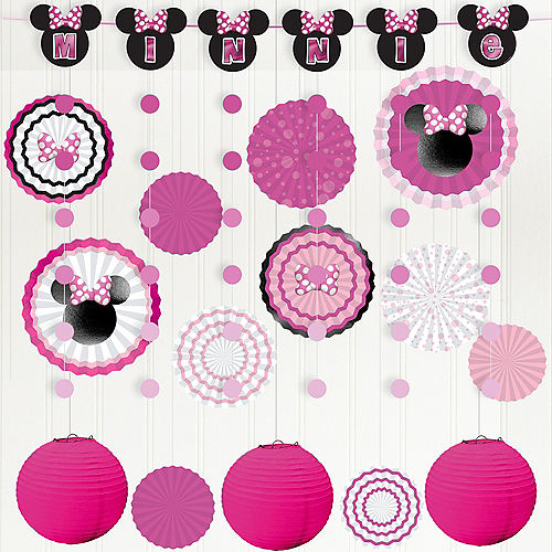 Minnie Mouse Forever Room Decorating Kit Image #1