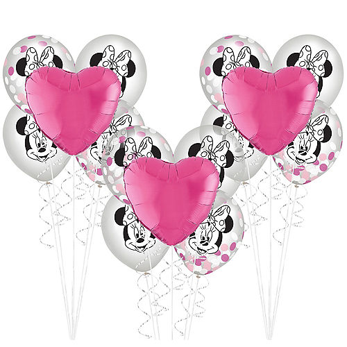Minnie Mouse Forever Balloon Bouquet Kit Image #1