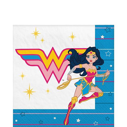 Superstar Wonder Woman Lunch Napkins 16ct Image #1